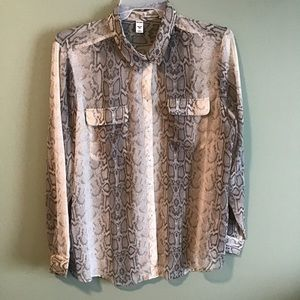 Old Navy plus size blouse size XXL preowned